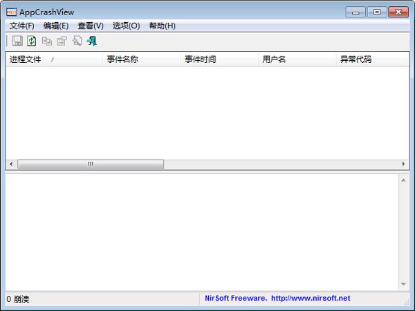 AppCrashView(显示程序崩溃信息) V1.21 绿色版