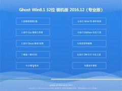 大地系统Ghost Win8.1 X32位 标