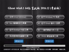 大地系统Ghost Win8.1 x64 经典