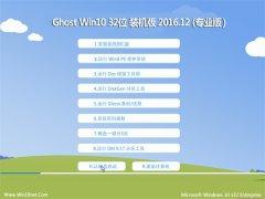 大地系统Ghost Win10 32位 万能