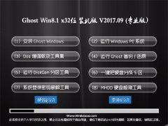 大地系统Ghost Win8.1 (32位) 家庭专业版v2017.09(永久激活)