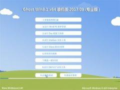 大地系统Ghost Win8.1 (X64) 旗舰稳定版2017.09(激活版)