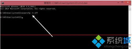 Win10清除休眠文件hiberfil.sys的步骤3